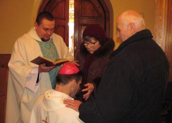 Brasław, BY: Prymicje biskupie 2014
