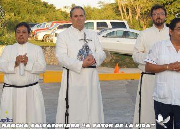 Meksyk, Campeche: Marsz dla życia 2014