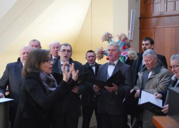Bielsko-Biała: Harfa w Cygańskim Lesie