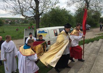 Ukraina, Brzozdowce: Niecodzienne odwiedziny