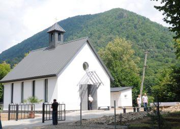 Ukraina: Poświęcenie kościoła
