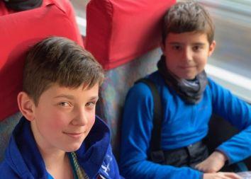 Bielsko Biała: Kulig rodzinny