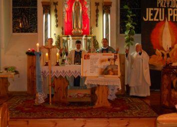 Krzywin Gryfiński: Poświęcenie świetlicy parafialnej im. Jana Pawła II 2010