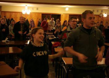 Trzebinia: Czuwanie dla maturzystów 2011