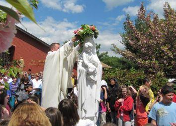 USA, Port Murray: Poświęcenie obrazu Jana Pawła II