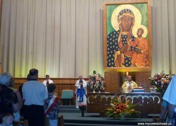 USA, Merrillville: Odpust u Matki Bożej Częstochowskiej 2011