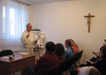 Brasław: Wprowadzenie do modlitwy różańcowej 2011