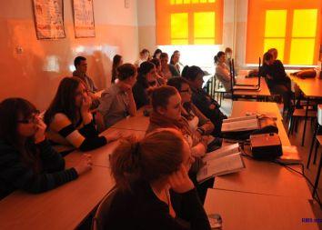 RMS: Akcja promocyjna w oleśnickim liceum 2012