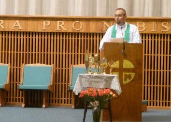 USA, Merrillville: Otwarcie kaplicy adoracji Najświętszego Sakramentu 2012