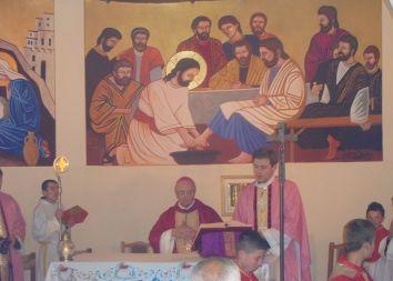 Albania: Poświęcenie tabernakulum w Bilaj 2012