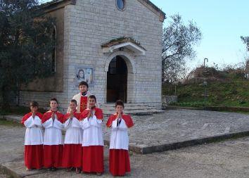 Bilaj, Albania: Kościół parafialny przed remontem 2013